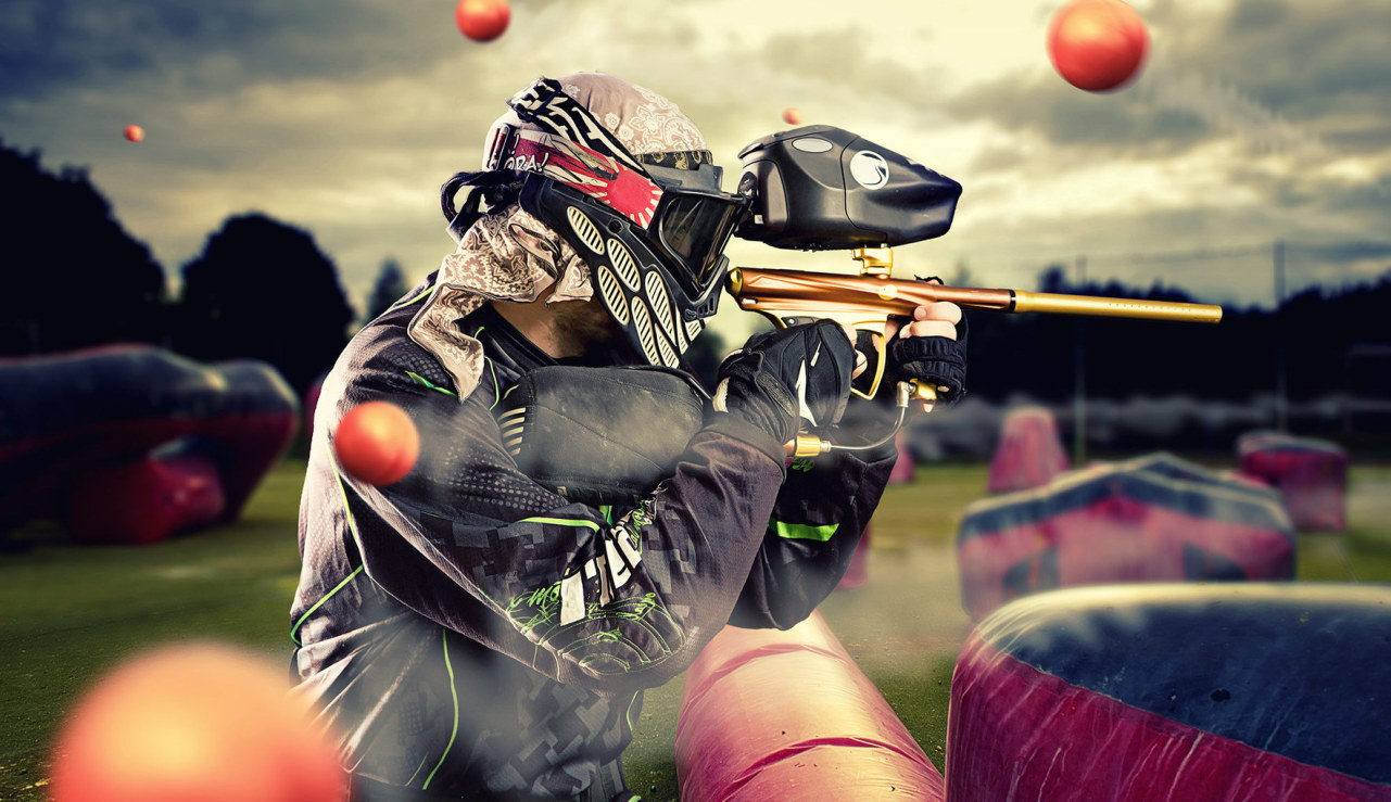 ideas originales para despedidas en Madrid paintball