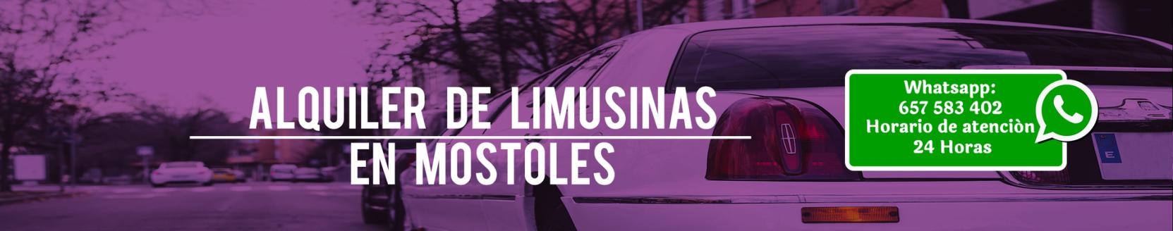 oferta alquiler de limusinas móstoles