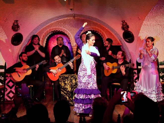 despedidas de solteros en tablao flamenco