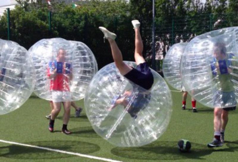 futbol burbuja despedida de soltero