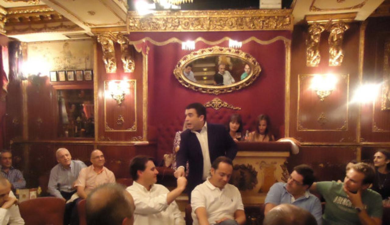 cumpleaños Madrid cripta mágica