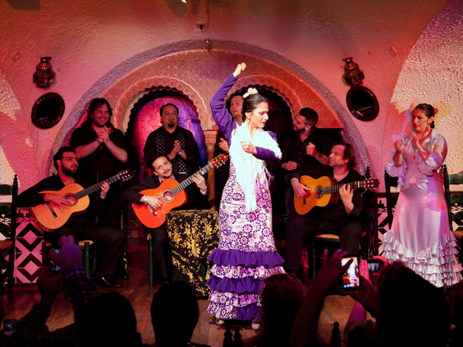 despedidas de solteros en tablao flamenco
