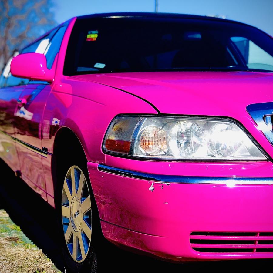 limusina rosa madrid